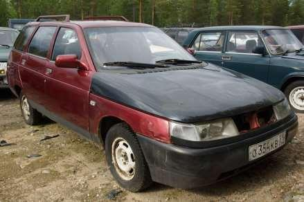 Russian car auction in Finland 69