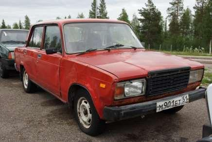Russian car auction in Finland 91