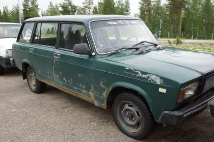 Russian car auction in Finland 93