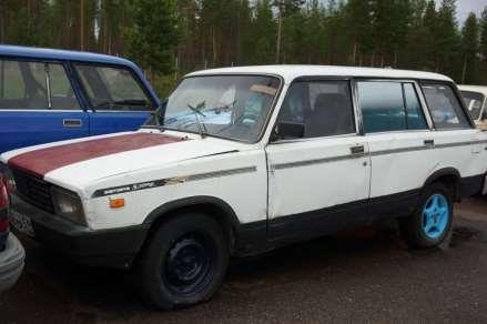 Russian car auction in Finland 96