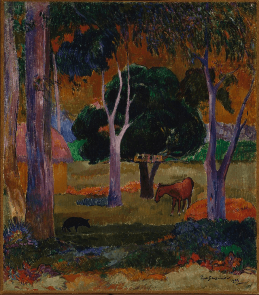 Artwork: Paul Gauguin: La Dominique (Hiva Oa), 1903